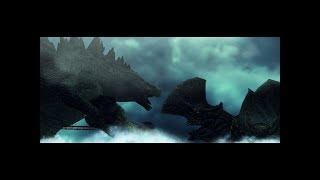 Godzilla fear and fire (Godzilla vs Tresspaser)full animation