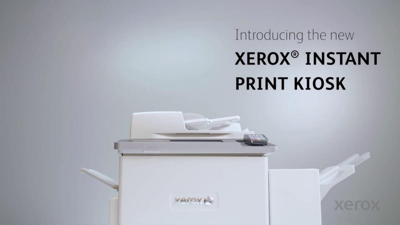 Xerox® Instant Print Kiosk YouTube Video