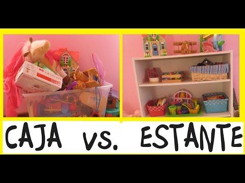 Caja de juguetes vs. Estante de juguetes | Toy Bin vs. Shelf