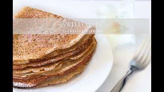 Sweet Crepes | Vegan, Gluten-Free, Oil-Free
