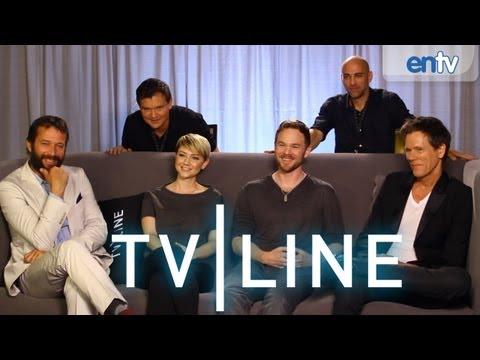The Following - Comic-Con 2013 - Cast and Crew Interview [VIDEO]