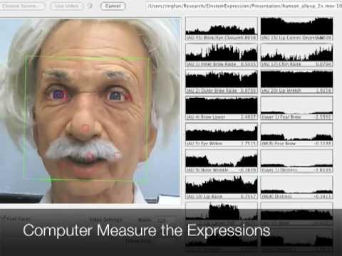 Robot Einstein Still Learning To Smile