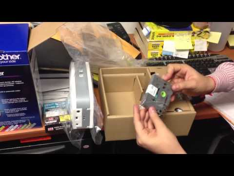 Unboxing brother p-touch pt-2430pc
