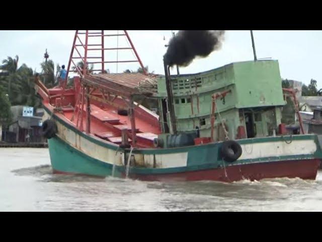 Những chiếc tàu biển đánh cá lớn nhất Kiên Giang/Largest fishing vessel