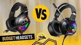 RUNMUS (ONIKUMA) K1 vs ONIKUMA K6 - Budget Gaming Headsets