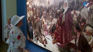 Новгородский музей-заповедник и Государственная Третьяковская галерея сделали «Шаг в историю»