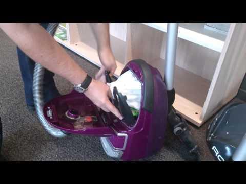 Mettre un sac wonderbag dans un aspirateur ROWENTA