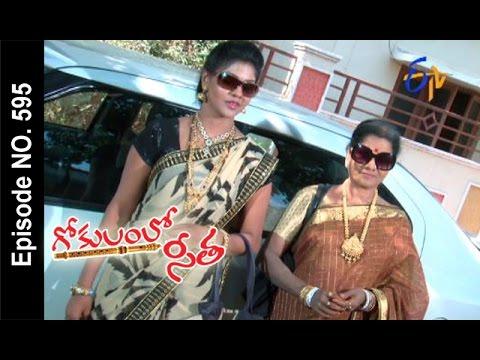 Gokulamlo Seeta | 29th April2017 | Full Episode No 595 | ETV Telugu