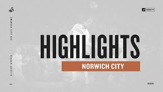 Highlights: Norwich 1 Swans 0