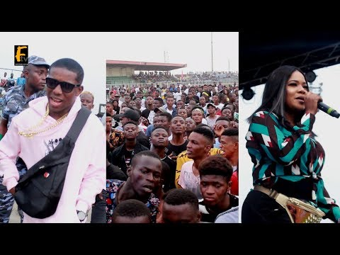 SMALL DOCTOR PULL CROWD IN AGEGE -  OMO BETTER CONCERT AFTER HIS ARREST TOYIN AIMAKUN ALSO PRESENTS