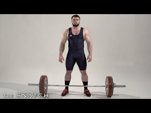 SNATCH / Olympic weightlifting and crossfit