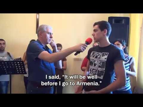 Ministry in Armenia 2016 (Echmiadzin) & Testimonies 3
