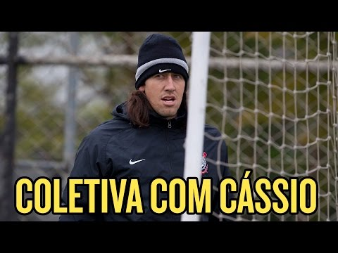 Cássio quer vitória e projeta Timão com Petros contra o Bahia