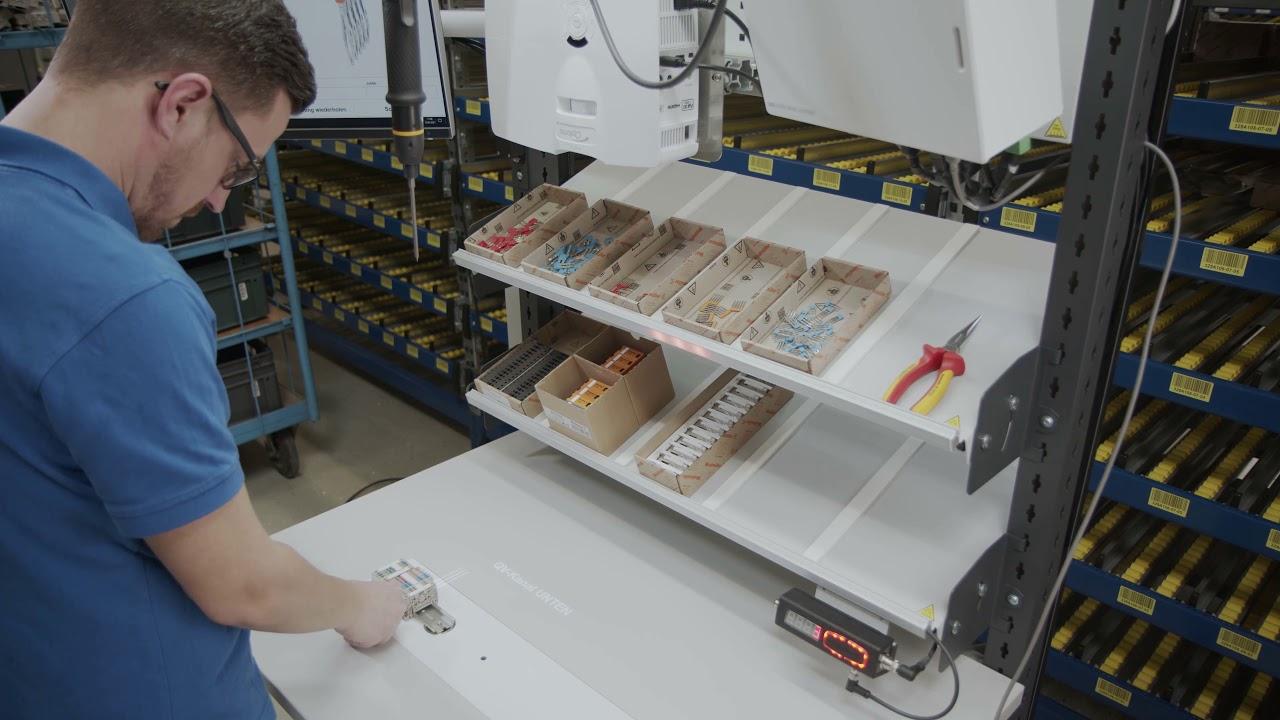 4. Assistierte Nachbestückung von Klemmenleisten mit Querverbindern mit ELAM