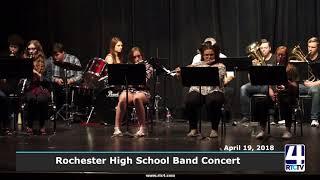 Rochester High School Band Concert
