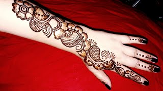 full hand mehndi design easy arabic - मुफ्त ऑनलाइन