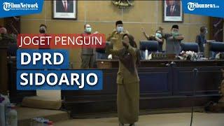 Viral Video 'Goyang Penguin' Plt Bupati dan Peserta Rapat Paripurna DPRD Sidoarjo