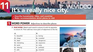 IT'S A REALLY NICE CITY - INTERCHANGE 5TH EDITION  BOOK 1 UNIT 11 AUDIOS