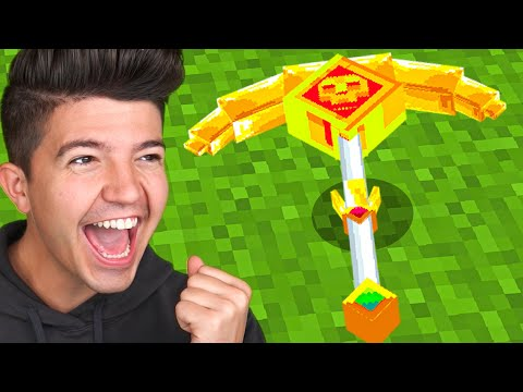 How to Craft a $1,000,000 GOD Pickaxe! *overpowered*