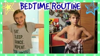 BEDTIME ROUTINE FOR THE FIRST DAY OF SCHOOL