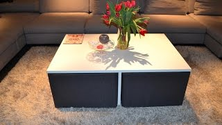 Luxary Smart Coffee Table. 2015