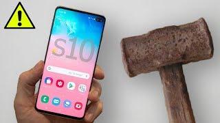Samsung Galaxy S10 VS МОЛОТ !