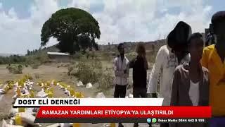 Ramazan yardımları Etiyopya'ya ulaştırıldı