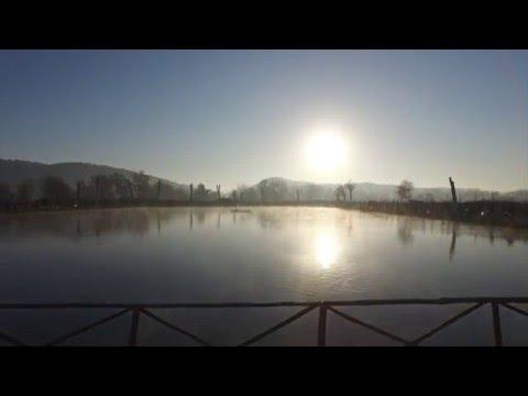 Il lago per pescare nella regione Di Nizhniy Novgorod
