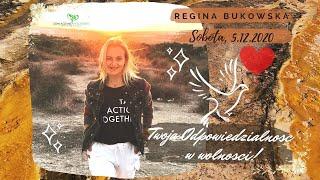 """""""Odpowiedzialności w naszej wolności"""" z Regina Bukowska"""