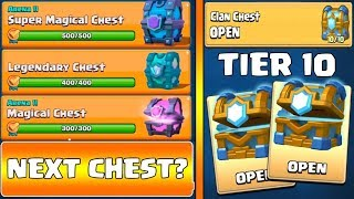 OH PLEASE, SUPER MAGICAL CHEST QUEST :: Clash Royale :: 10 OUT OF 10 CLAN CHEST OPENING!