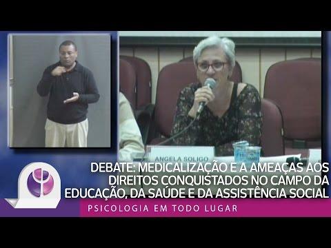 Medicalização e as ameaças aos direitos conquistados no campo da educação da saúde e da assistência social