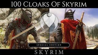 100 CLOAKS OF SKYRIM MOD | Skyrim SE Ultra High ENB - Photoreal Graphics | Nvidia GTX 1080
