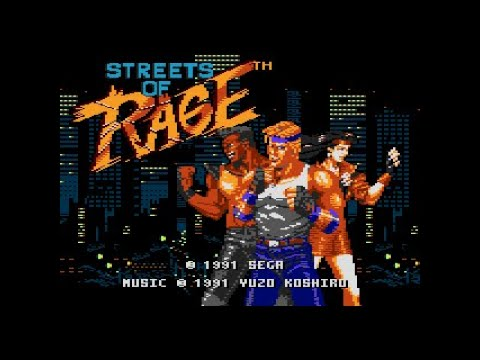 Streets Of Rage - The Street Of Rage (Atari 8-Bit POKEY Chiptune Cover) [Intro]