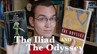 """""""The Iliad"""" and """"The Odyssey"""" by Homer - Bookworm History"""