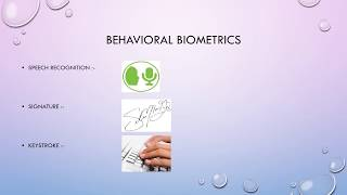 Biometrics {PPT} By KP