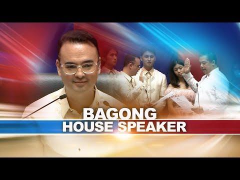 Rep. Alan Peter Cayetano, itinalagang bagong House Speaker | 24 Oras