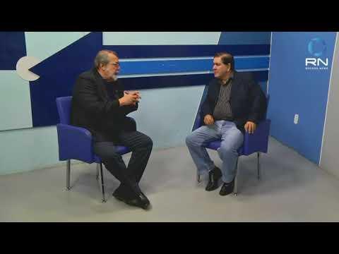 O reitor Ari Ott, da UNIR, é o entrevistado de Sérgio Pires, na SICTV  - Gente de Opinião
