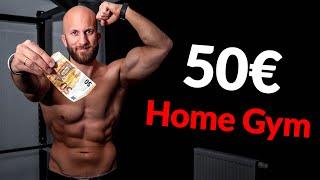 Dein Home Gym für UNTER 50 € (mehr brauchst du NICHT)