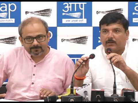 AAP Press Brief on Corruption Allegation charges on CS Anshu Prakash