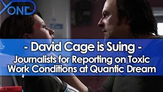 David Cage is Suing Journalists for Reporting on Toxic Work Conditions