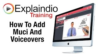 How To Add Music And Voiceovers In Explaindio - Explaindio Training