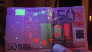 Wie erkennt man Falschgeld?