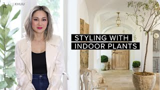 How to Style Your Home with Indoor Plants | Julie Khuu