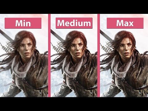 Rise of the Tomb Raider : comparatif PC
