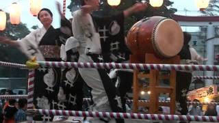 Japan Obon Dance--Tanko bushi (coal miner's song/dance)