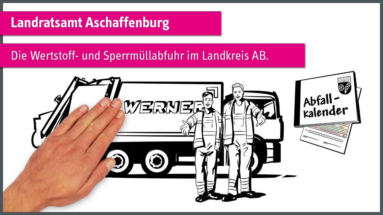 """""""Die Wertstoff- und Sperrmüllabfuhr im Landkreis Aschaffenburg."""" einfach erklärt"""
