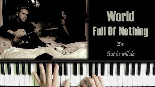 Depeche Mode World Full Of Nothing Amazing Piano Cover