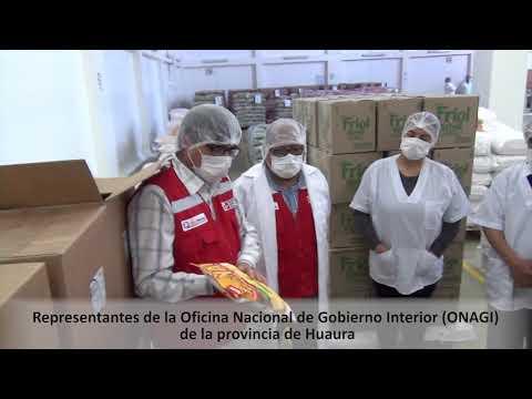 Vigilantes sociales verifican calidad de alimentos en almacén de proveedor de Qali Warma en Lima Provincias
