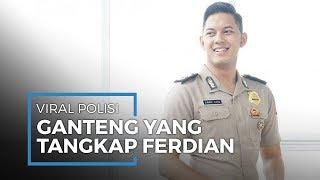 Polisi Ganteng Gariz Luis Viral setelah Tangkap Ferdian Paleka