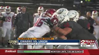 Union shuts out Owasso, 21-0 in State Title Game rematch